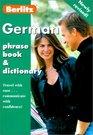 Berlitz German Phrase Book (Berlitz Phrase Book)
