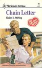 Chain Letter (Harlequin Intrigue, No 85)