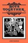 Boys together English public schools 1800-1864