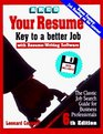 Arco Your Resume Key to a Better Job  Software User's Manual