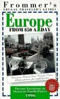 Frommer's 96 Frugal Traveler's Guides Europe from 50 a Day
