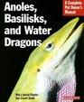 Anoles Basilisks and Water Dragons