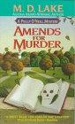 Amends for Murder (Peggy O'Neill, Bk 1)