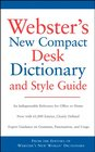 Webster's New Compact Desk Dictionary and Style Guide Office Depot