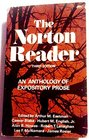 The Norton reader An anthology of expository prose