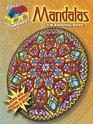 3-D Coloring Book--Mandalas