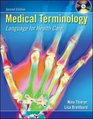 Medical Terminology Language for Health Care with Student and Audio CD's  Flashcards