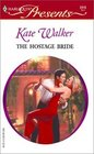 The Hostage Bride  (Red-Hot Revenge) (Harlequin Presents, No 2315)