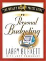 World's Easiest Pocket Guide to Personal Budgeting