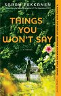 Things You Won\'t Say