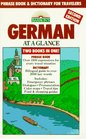 German at a Glance Phrase Book  Dictionary for Travelers