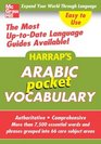Harrap's Pocket Arabic Vocabulary