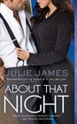 About That Night (FBI / U. S. Attorney, Bk 3)