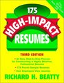175 HighImpact Resumes 3rd Edition