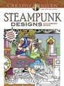 COSTCO Creative Haven STEAMPUNK DESIGNS Coloring Book Color Doodle Imagine Create