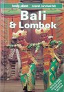 Lonely Planet Bali and Lombok