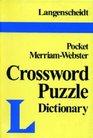 Langenscheidt's Pocket Crossword Puzzle Dictionary