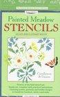Painted Meadow Stencils Cornflowers  Daisies