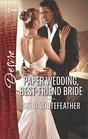 Paper Wedding Best-Friend Bride