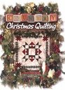 Country Christmas Quilting