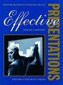 Effective Presentations (Oxford Business English Skills)