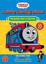 Thomas Has a Secret Activity Reading Sticker