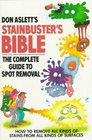 Don Aslett's Stainbuster's Bible The Complete Guide to Spot Removal