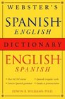 Webster's Spanish-English/English-Spanish Dictionary
