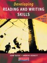Developing Reading  Writing Skills for the Year 8 Tests Student Book