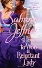 How to Woo a Reluctant Lady (Hellions of Halstead Hall, Bk 3)