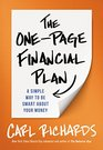 The One-Page Financial Plan A Simple Way to Be Smart About Your Money