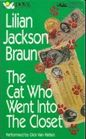 The Cat Who Went Into the Closet (The Cat Who...Bk 15) (Audio Cassette) (Abridged)