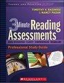 3-MINUTE READING ASSESSMENTS A PROFESSIONAL DEVELOPMENT DVD