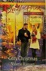 Cozy Christmas (Heart of Main Street, Bk 6) (Love Inspired, No 817) (True Large Print)