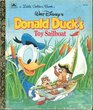 Walt Disney's Donald Duck's toy sailboat (A Little golden book)
