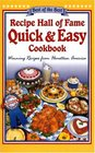 Recipe Hall of Fame Quick  Easy Cookbook
