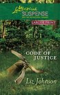 Code of Justice (Lp Love Inspired Suspense)
