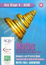 On Course for Gcse Maths Intermediate and Higher Tiers With Answers