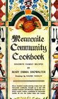 Mennonite Community Cookbook: Favorite Family Recipes