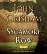 Sycamore Row (Audio CD) (Abridged)