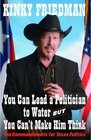 You Can Lead a Politician to Water But You Can't Ten Commandments for Texas Politics