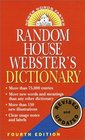 Random House Webster's Dictionary Revised Edition
