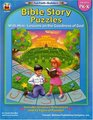 Bible Story Puzzles Grades PreK-K