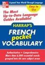 Harrap's Pocket French Vocabulary