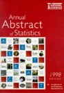 Annual Abstract of Statistics 1998