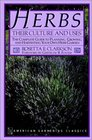Herbs: Their Culture and Uses (American Gardening Classics)
