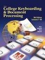 Gregg College Keyboarding  Document Processing  Home Version Kit 1 Word 2000 v20