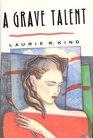 A Grave Talent (Kate Martinelli, Bk 1) (Audio Cassette) (Unabridged)