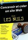 Concevoir et crer un site web pour les nuls