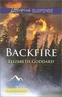 Backfire (Mountain Cove, Bk 3) (Love Inspired Suspense, No 467) (Larger Print)